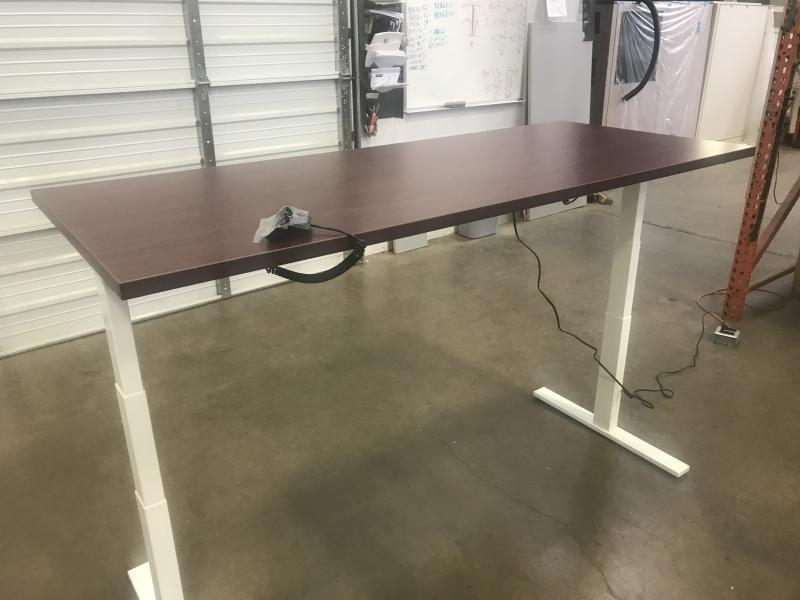Sit to Stand Adjustable Height  Table Desk 30x72""