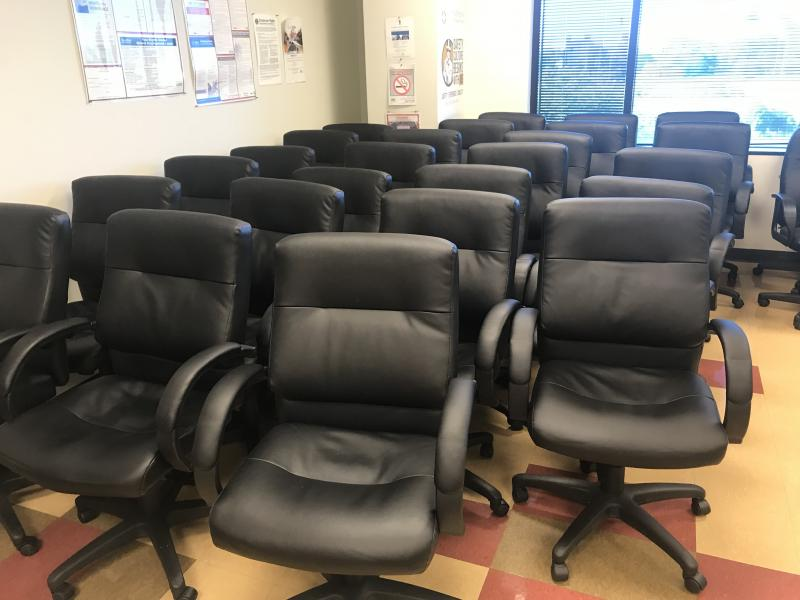 Conference and Executive Leather Chairs