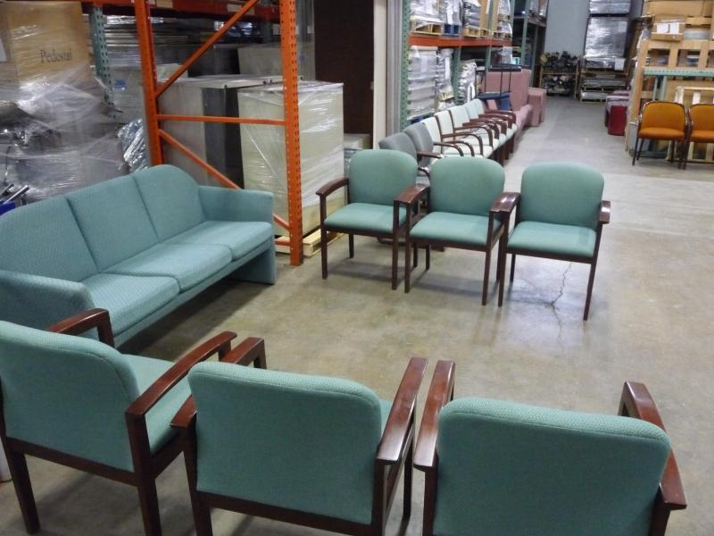 Reception / Guest Seating Set (Turquoise )