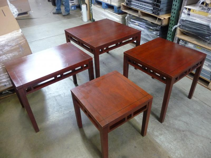Wood Side Table Cherry   (Veneer)