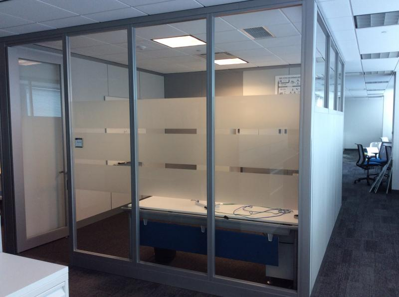 Tall wall  full height Steelcase