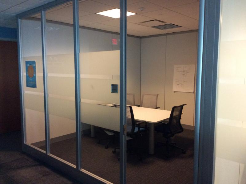 "Tall Wall Full height Steelcase 108"" H"